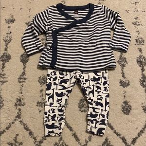 Baby boy tea collection outfit